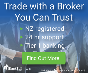 BlackBull Markets Broker - the fastest growing financial services business in New Zealand